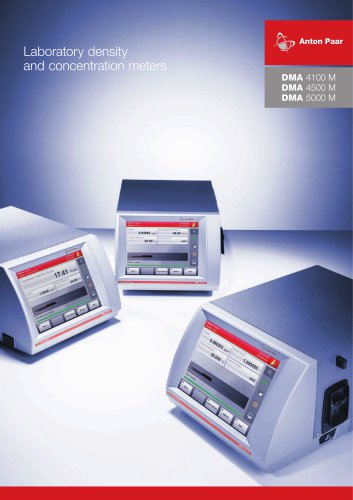 DMA 4500 M-Laboratory density and concentration meters_C76IP004EN-A