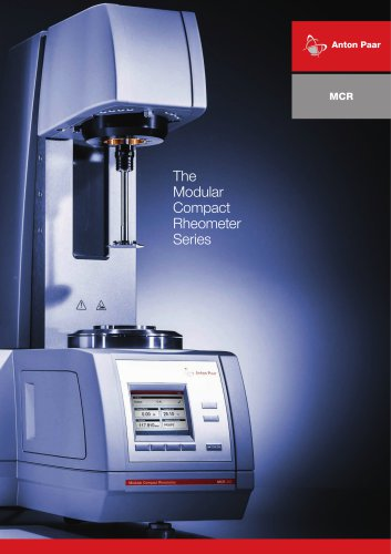MCR | The Modular Compact Rheometer Series