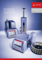 Soft Drink Analysis Overview - Pressurized and non-pressurized analyzing systems_ XDLIP016EN-D