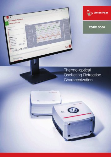 TORC 5000 - Thermo-optical Oscillating Refraction Characterization_ E26IP001EN-A
