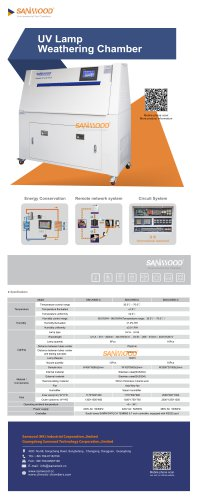 CLIMATIC TEST CHAMBER / UV LIGHT AGING / ACCELERATED / STAINLESS STEEL SM-UV600-C