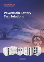 Environmental test equipment -Powertrain Battery Solution