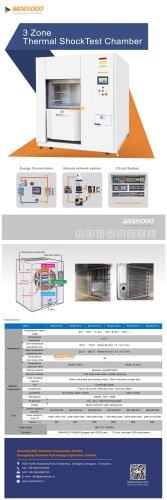 Thermal Shock Chamber(3 Zone)