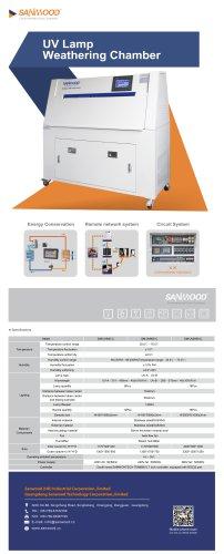 UV Lamp Test Chamber