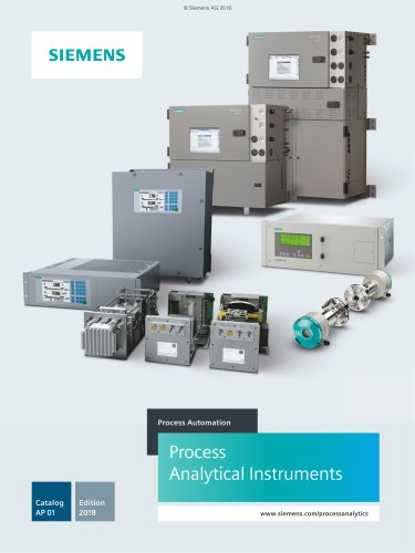 Process Analytical Instruments 2018