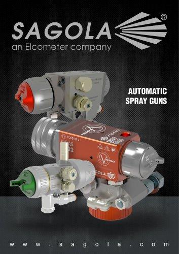 Automatic Spray Guns