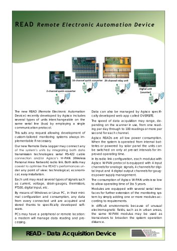 Remote Electronic Automation Device