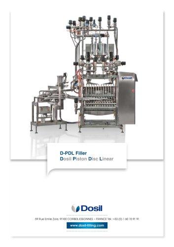 Dosil Piston Disc Linear filling