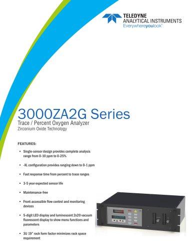 Model 3000ZA2G and 3000ZA2G-XL Zirconium Oxide Trace / Percent Oxygen Analyzer