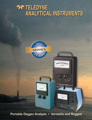 Model 311 Series of Portable Oxygen Analyzers