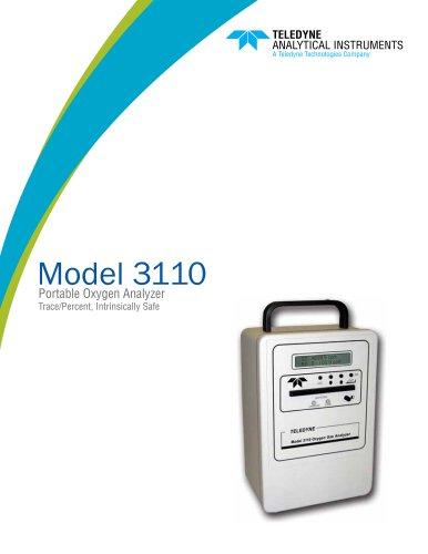 Model 3110 Series of Portable Oxygen Analyzers