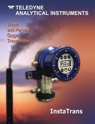 Model InstaTrans (3001) Oxygen Transmitter