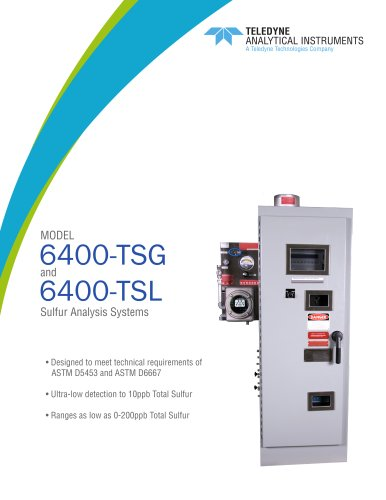 Total Sulfur - 6400 Datasheet