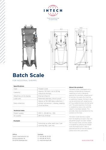 Batch Scale