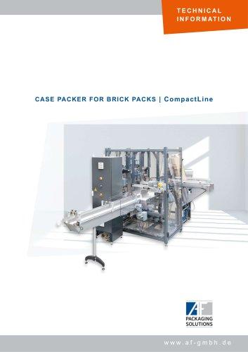 CASE PACKER FOR BRICK PACKS | CompactLine