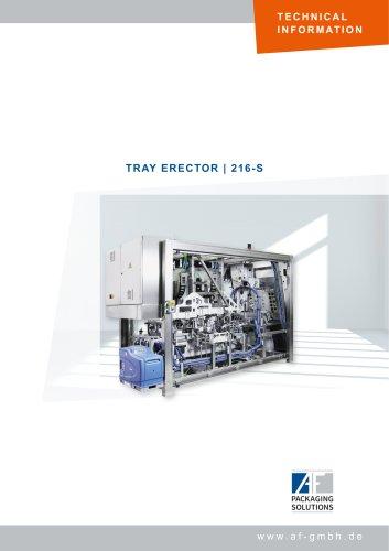 TRAY ERECTOR | 216-S