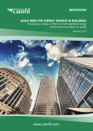 Quick Wins for Energy Savings in Buildings