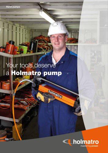 Holmatro Handpumps