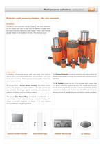 Multi purpose cylinders - spring return - 4