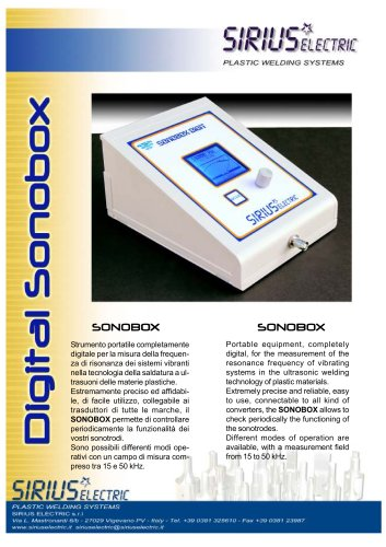DIGITAL SONOBOX