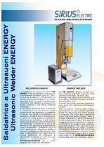 INNOVATIVE ULTRASONIC WELDER USP ENERGY
