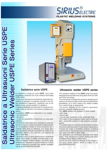 ULTRASONIC WELDER MODEL USPE