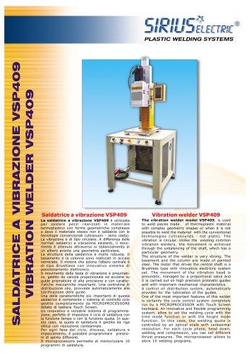 VIBRATION WELDER MODEL VSP409-14