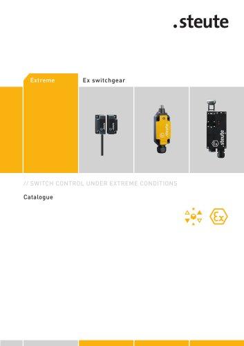 Ex switchgear to ATEX Catalogue