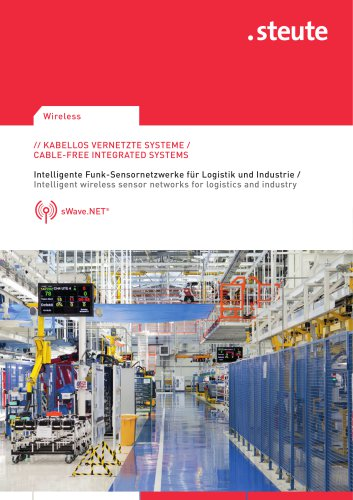 INTELLIGENT WIRELESS SENSOR NETWORKS FOR LOGISTICS AND INDUSTRY