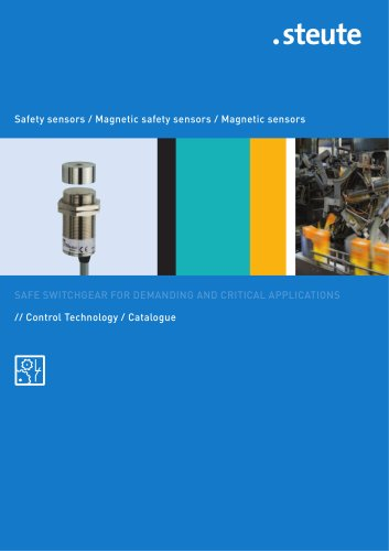 Safety sensors / Magnetic safety sensors / Magnetic sensors