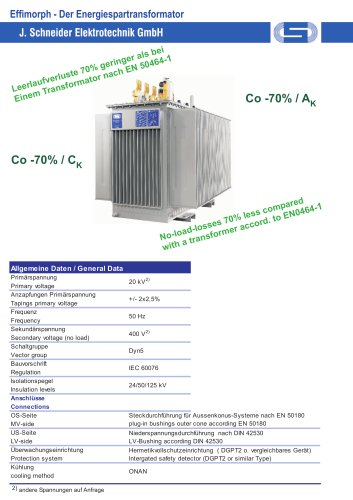 Effimorph - Energy Saving Transformer