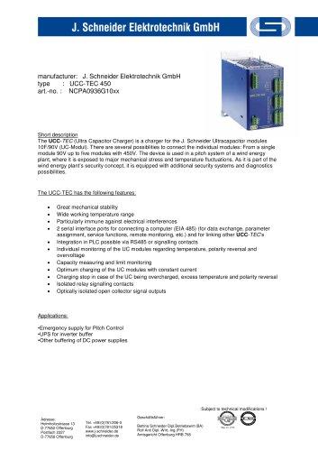 UCC - TEC 450