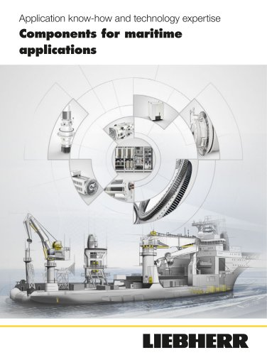 Components for maritime applications