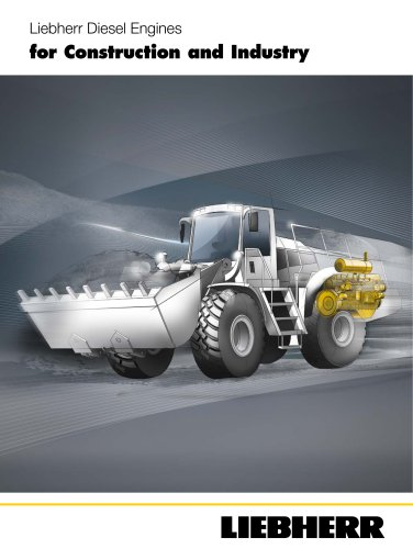 Liebherr Diesel Engines for Construction and Industry
