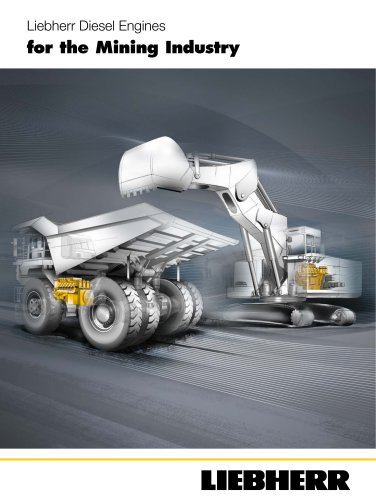Liebherr Diesel Engines for the Mining Industry