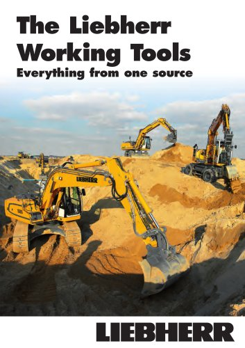The Liebherr Working Tools
