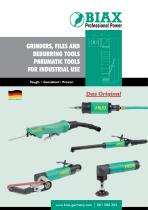 Grinders, Files and Deburring tool