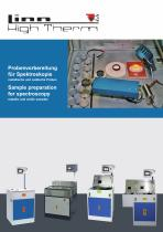 Sample preparation for spectroscopy