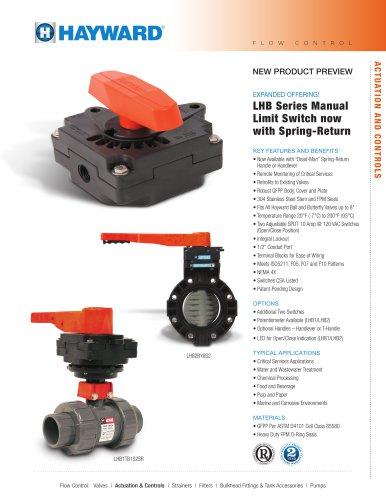 LHB-0512 - LHB Series Manual Limit Switch