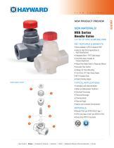 NPP1115 - CPVC & Natural PVDF NVA Series Needle Valves