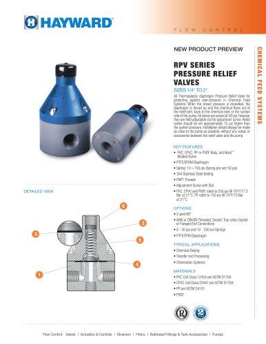 NPPRPV0915 - RPV Series Pressure Relief Valves