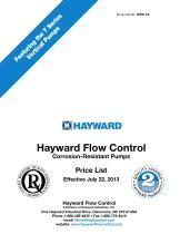 WPP-19 Corrosion-Resistant Pumps