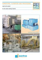 Chip Conveying, Filtration, and Processing