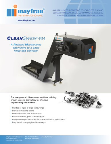CleanSweep-RM Chip Conveyors