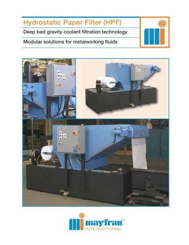Hydrostatic Paper Filter-HPF