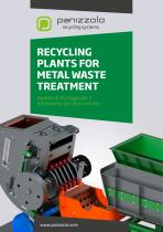 RECYCLING PLANTS FOR METAL WASTE TREATMENT