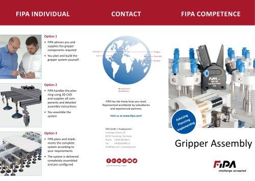 FIPA Gripper Assembly Flyer