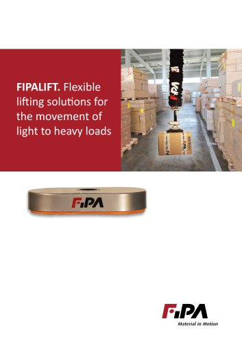 FIPA Lifting Technology Brochure