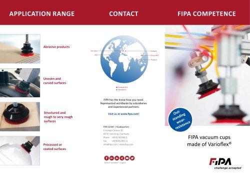 FIPA Varioflex® vacuum cups