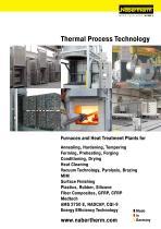 Thermal Process Technology I
